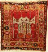 Central Anatolian prayer rug antique, Turkey, around