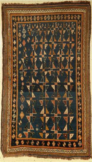 Luri Gabbeh old, Persia, around 1930, wool on wool
