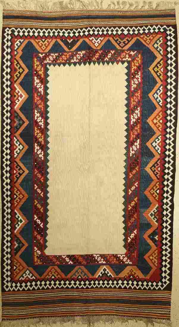 Ghashgai kilim old, Persia, around 1940, wool on wool