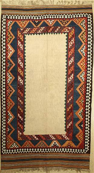 Ghashgai kilim old, Persia, around 1940, wool on wool