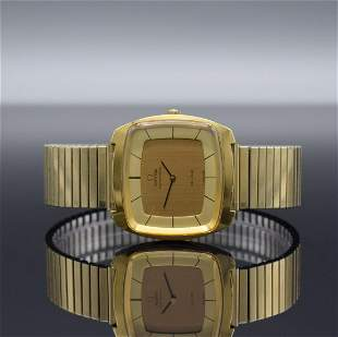 OMEGA gents wristwatch De Ville in so called TV-shape