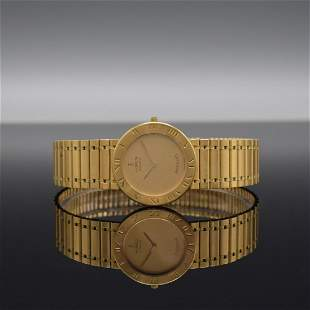 CORUM 18k yellow gold gents wristwatch ROMULUS