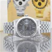 ROLEX gents wristwatch Oyster Perpetual Datejust 16030