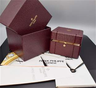 PATEK PHILIPPE watch-box with covering case