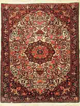 Bidjar cork, Persia, approx. 50 years, wool oncotton