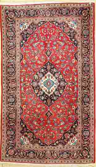 Kashan, Persia, approx. 30 years, wool on cotton