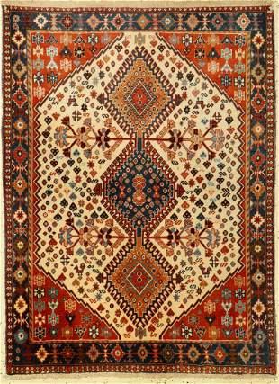 Yalameh old, Persia, approx. 50 years, wool onwool