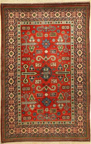 Shirvan old, Russia, approx. 40 years, wool oncotton