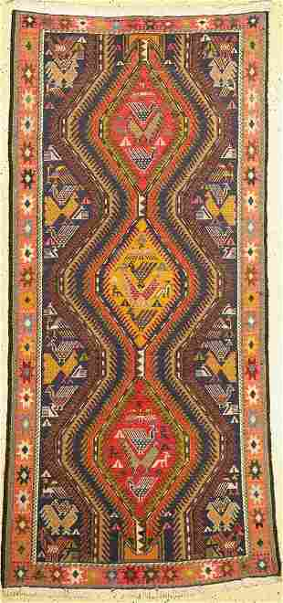 Sumagh, Persia, approx. 50 years, cotton, approx. 206