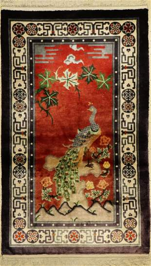 China silk old, approx. 60 years, pure naturalsilk
