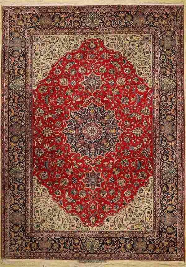 Isfahan fine old Persia, signed (Saraf Mamuri)