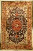 Tabriz fine old, Persia, around 1960, wool on cotton