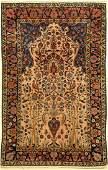 Manchester Kashan antique, Persia, around 1900, wool