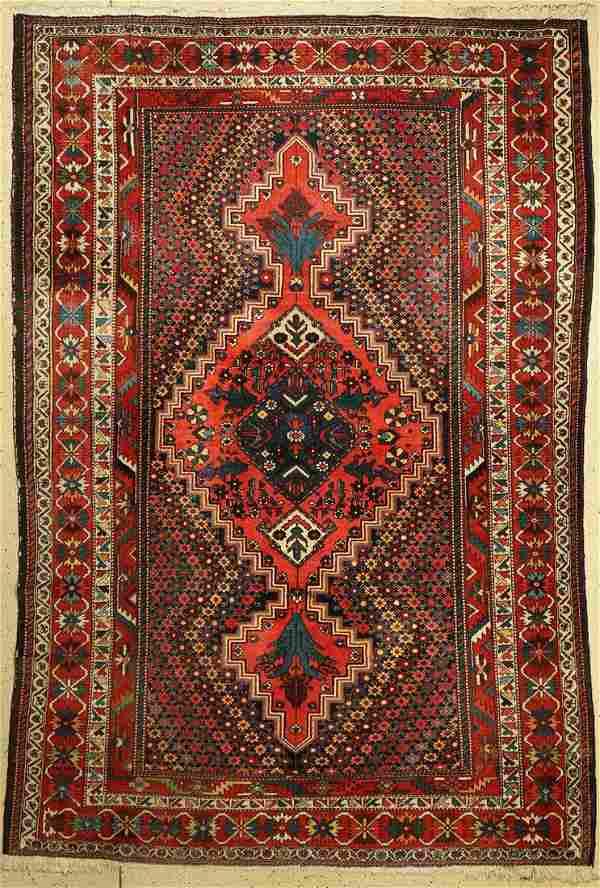 Bakhtiar old, Persia, around 1940, wool on cotton