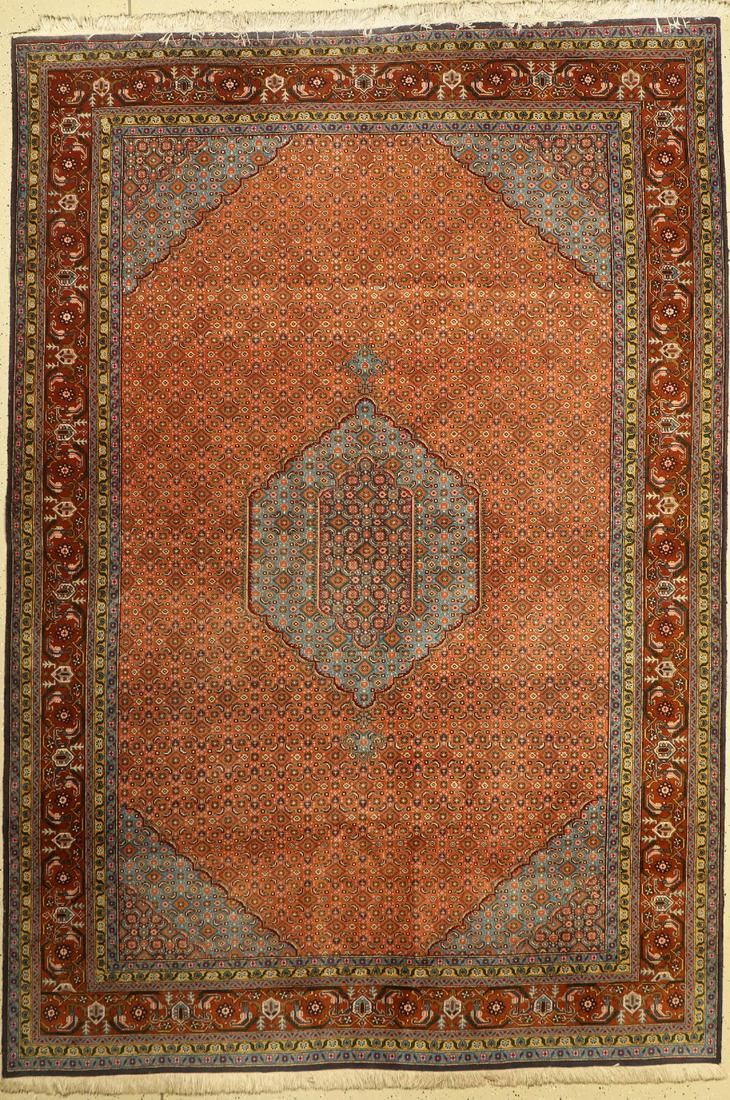 Ardabil Persia, approx. 50 years, wool on cotton