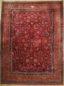 Mashad old signed, Persia, approx. 50 years, wool on