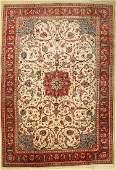 Saruk old signed, Persia, around 1950, wool oncotton