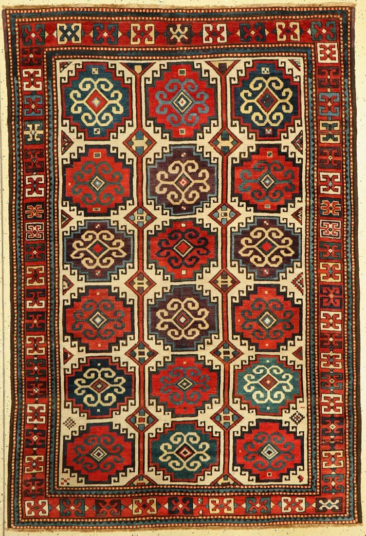 Antique Moghan, Caucasus, late 19th century, wool on