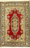 Qum, Persia, approx. 60 years, wool on cotton with silk