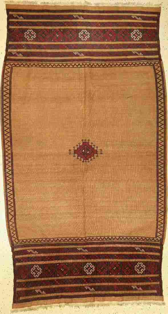 Baluch Sofreh old, Persia, around 1930, wool on wool