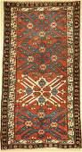 Karabagh Eagle Kazak antique, Caucasus, around1910,