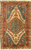 Gharadjeh antique, Persia, around 1900, wool on cotton