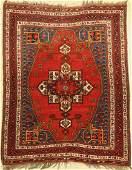 Afshar antique, Persia, around 1900, wool on wool