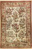 Qum silk fine, Persia, approx. 50 years, pure natural