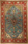 Qum cork fine, Persia, approx. 50 years, wool with silk