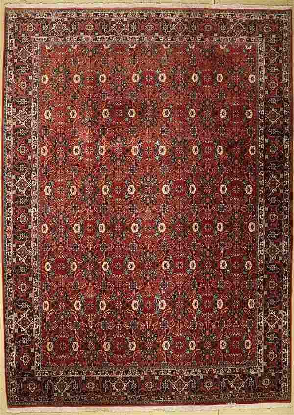 Bidjar fine, Persia, approx. 40 years, wool oncotton