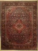 Kashan fine, Persia, around 1940, wool on cotton