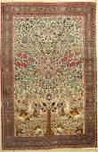 Antique Tehran, Persia, around 1900, wool on cotton