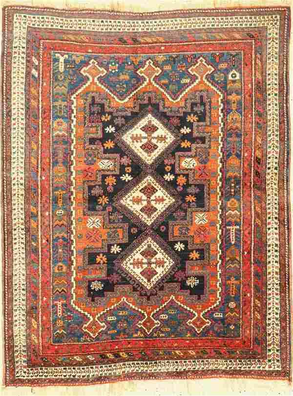 Afshar antique, Persia, around 1910/1920, woolon wool