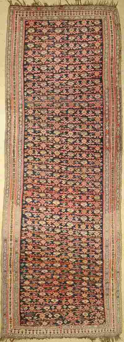 Senneh kilim old, Persia, around 1930, wool onwool