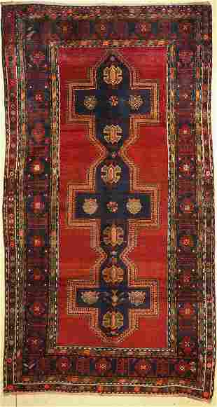 Kazak antique, Caucasus, around 1910, wool on wool