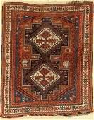 Afshar antique, Persia, around 1910, wool on wool