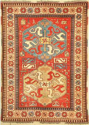 Azeri (Cloud Band), Azerbaijan, approx. 50 years, wool