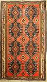 Bakhtiar Kilim old, Persia, around 1950, wool on cotton