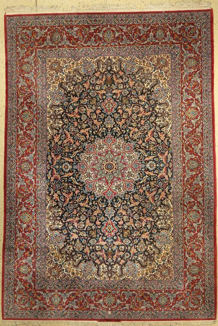 Isfahan fine signed (Nawabi), Persia, approx. 50 years