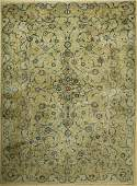 Kashan old, Persia, around 1960, wool on cotton