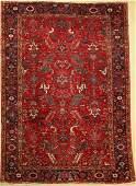Heriz old, Persia, around 1940, wool on cotton