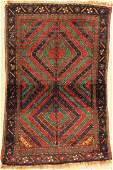 Khorasan Kordi old, Persia, around 1940, wool on wool