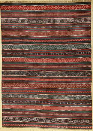 Armenian kilim, Caucasus, around 1900, wool onwool