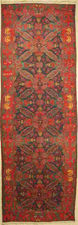 Seichur Sumakh antique, Caucasus, around 1900,wool on