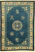 Beijing antique, China, around 1900, wool on cotton