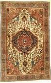 Farahan fine antique, Persia, around 1900, wool