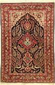 Kashan fine old, Persia, around 1930/1940, wool
