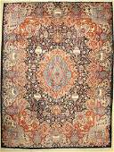 Kashmar old, Persia, approx. 50 years, wool on cotton