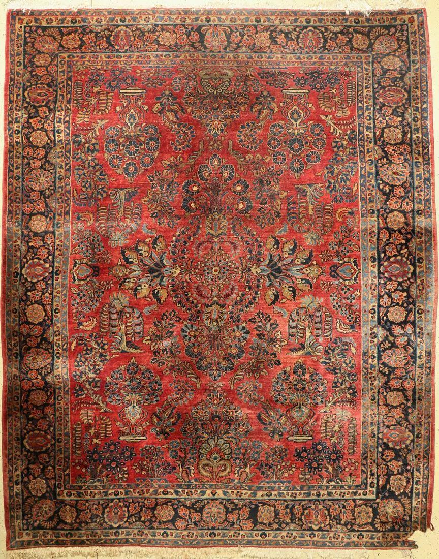 Old Saruk, Persia, around 1930/1940, wool on cotton