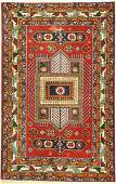 Yerevan old, Russia, approx. 40 years, wool on cotton